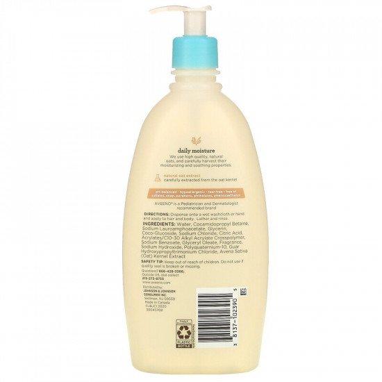 Daily Moisture Baby Wash & Shampoo With Light Fragrance - 532ml